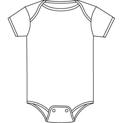 Baby Clothes Clipart Black And White 20 Free Cliparts