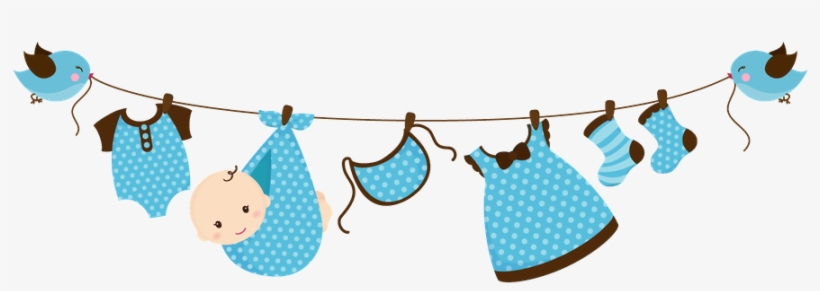 Baby Clothes Line Png Jpg Library Download.