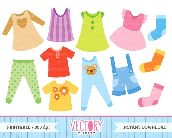 Baby clothes clipart 3 » Clipart Station.