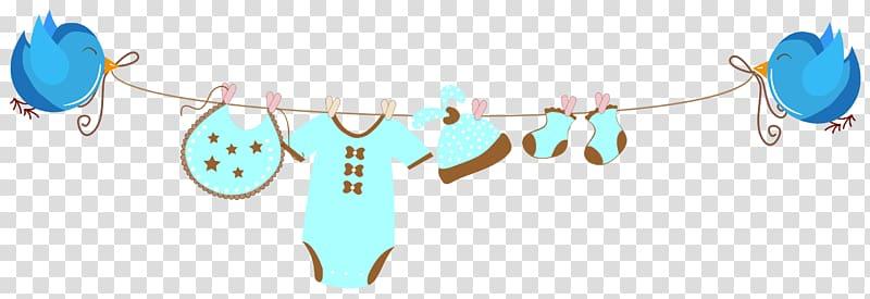 Blue layette set, Infant Banner Child Illustration, Baby.