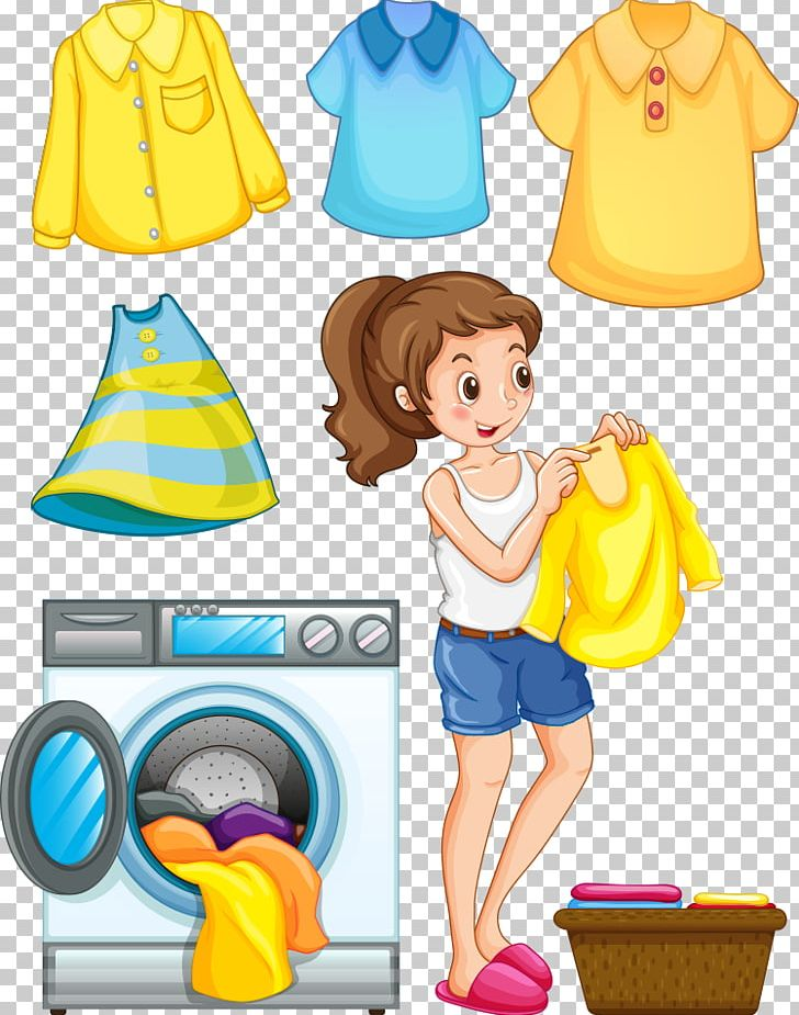 Laundry Ironing Washing Machine PNG, Clipart, Baby Clothes.