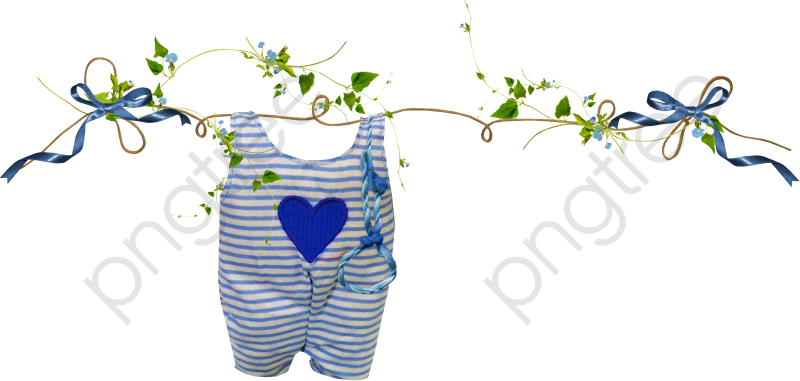 Hanging Baby Clothes, Baby Clipart, Clothes Clipart, Baby Clothes.
