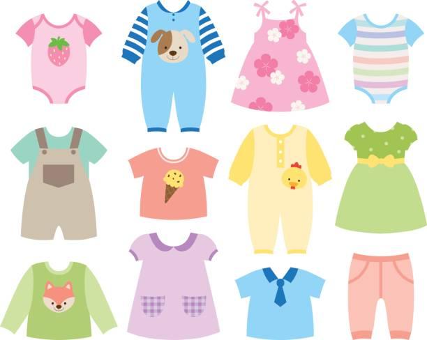 Best Baby Dress Illustrations, Royalty.