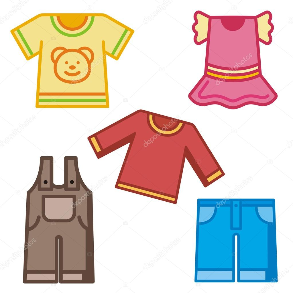 Clipart: baby clothing.