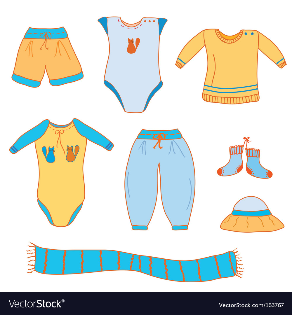 Baby boy clothes.