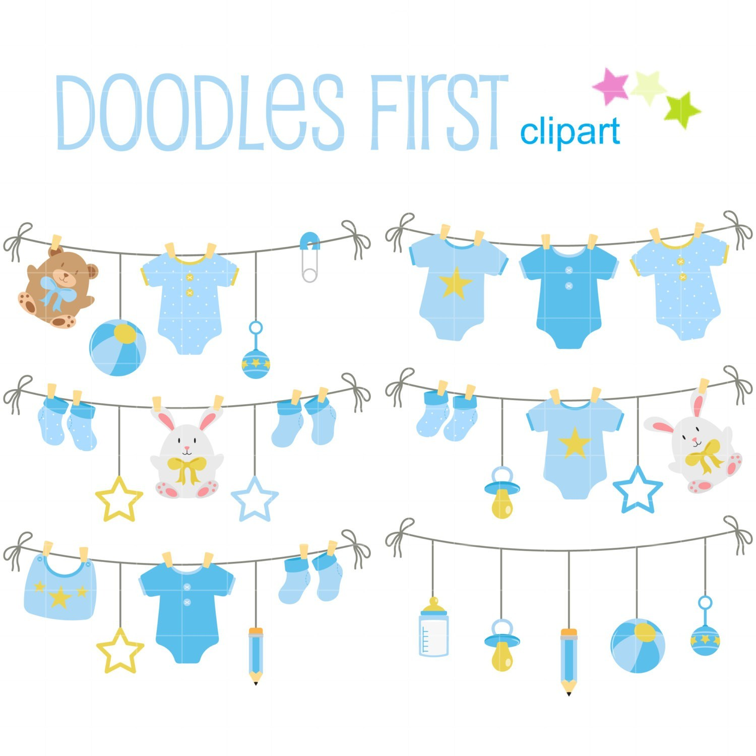 Free baby clothesline clipart 6 » Clipart Portal.