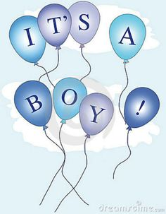 Baby Boy Congratulations Clipart.