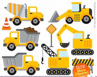 Construction Truck Clipart Png.