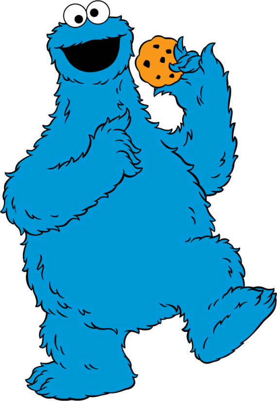Free Clip art of Cookie Monster Clipart #1872 Best Baby Cookie.