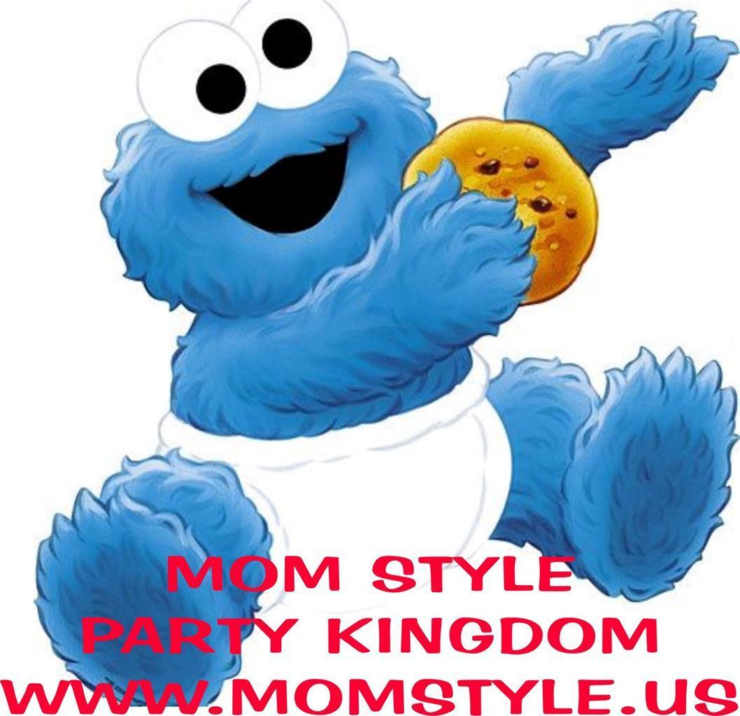 Baby Cookie Monster Iron.