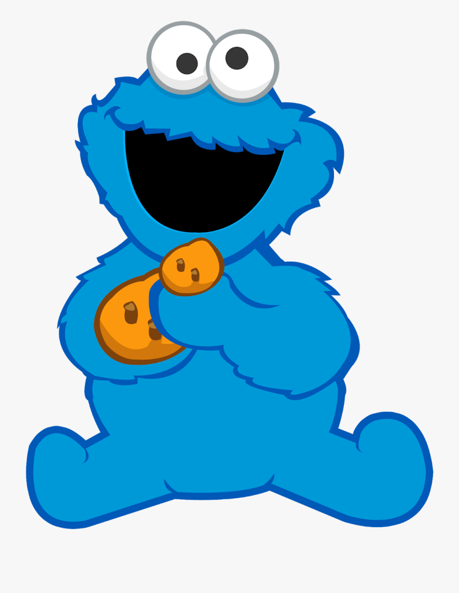 Baby Cookie Monster Png , Free Transparent Clipart.