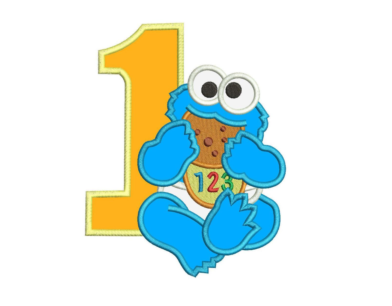 564 Cookie Monster free clipart.