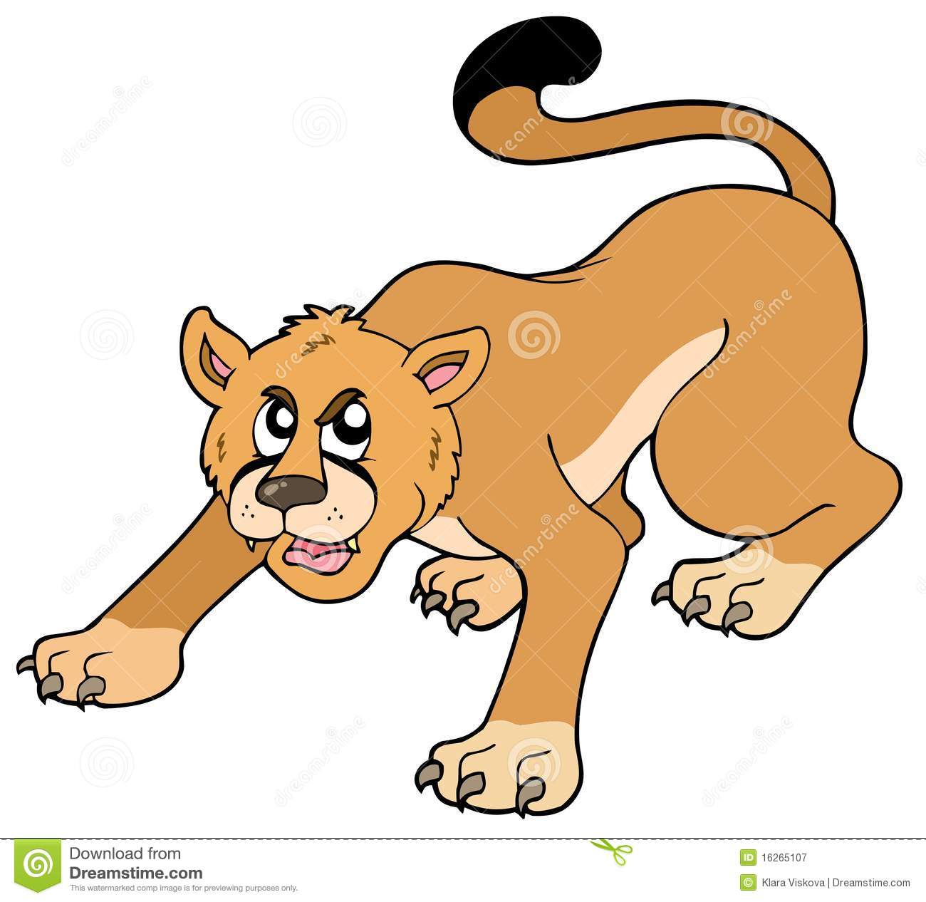 990 Cougar free clipart.