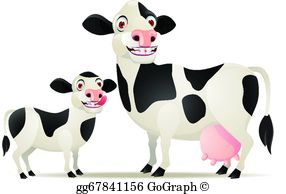 Baby Cow Clip Art.