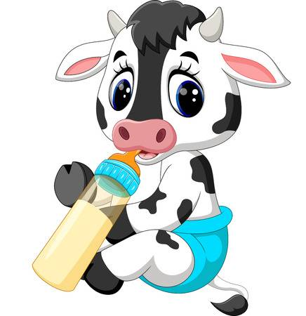 Baby cow clipart 6 » Clipart Station.