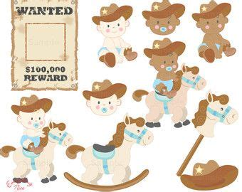 Cowboy E Cowgirl Minus Alreadyclipart Western, Cowboy Theme Baby.