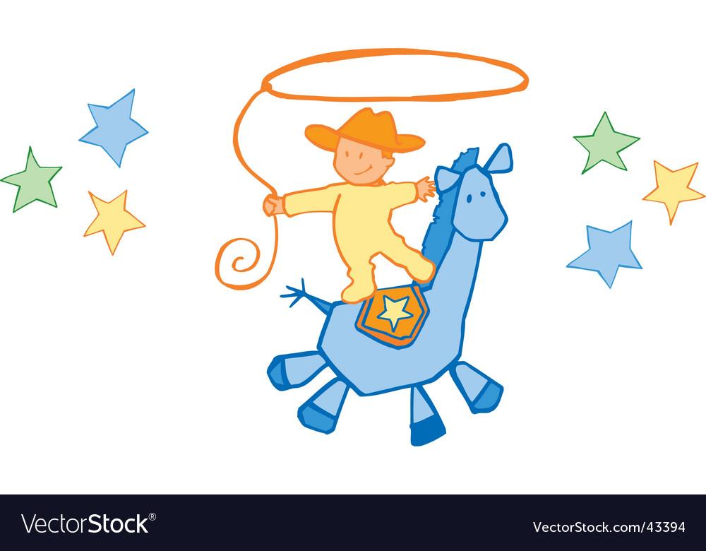 Baby cowboy.