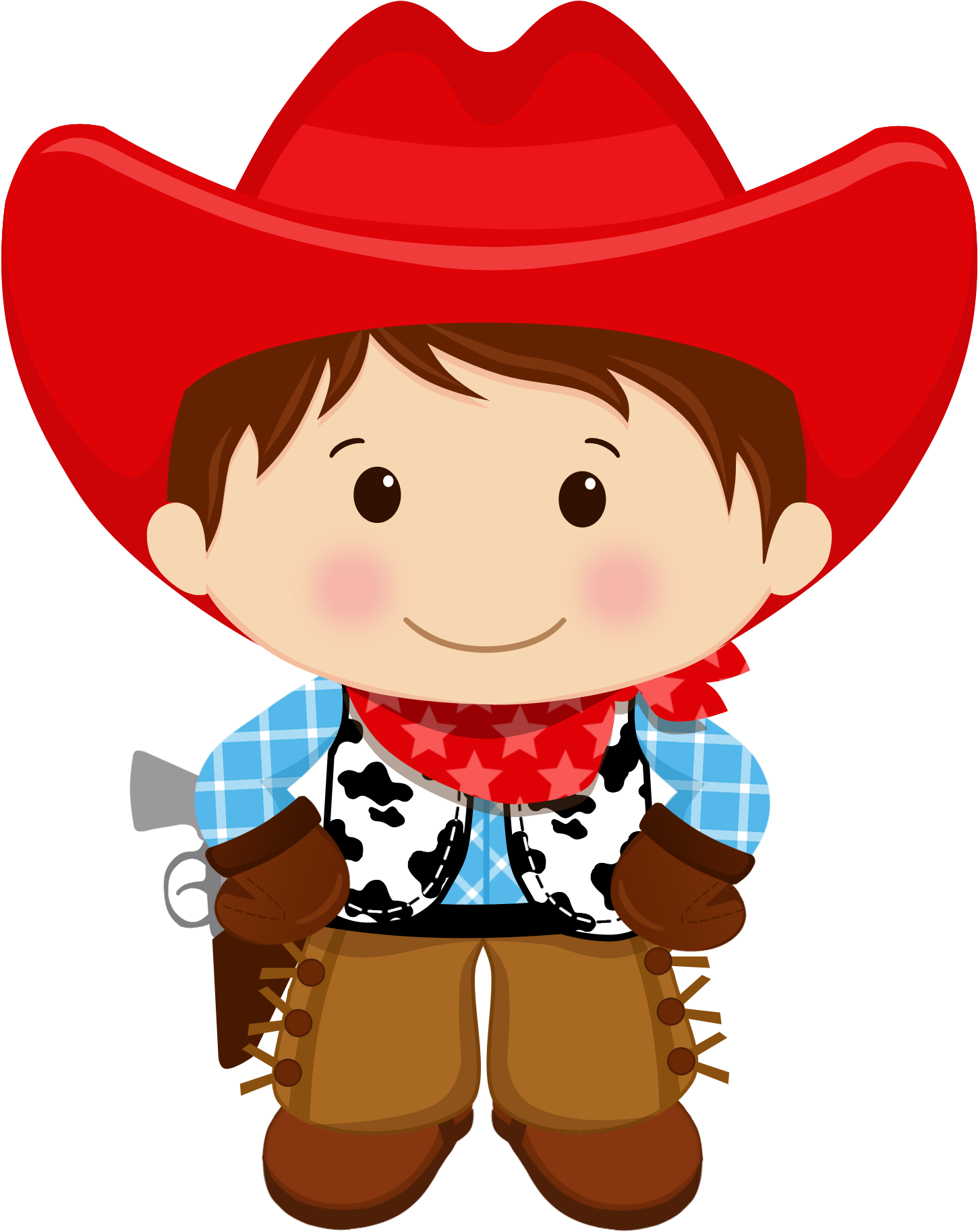 Vector Royalty Free Download Baby Cowboy Clipart.