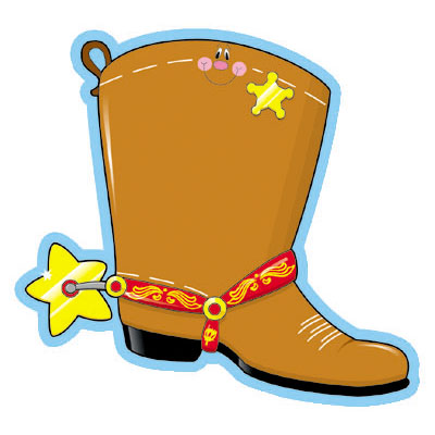 Cowboy boots vector vector image for you save clip art.