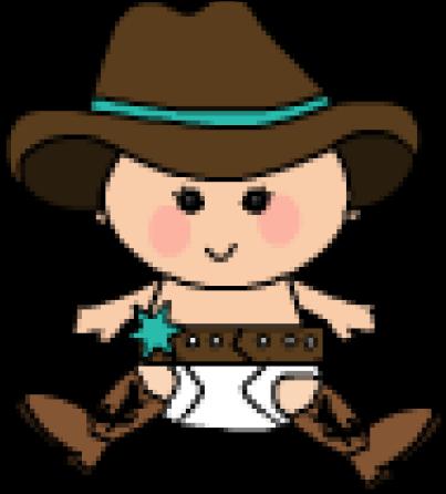 Cowboy Clipart Baby Boy.