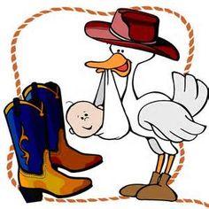 50+ Baby Cowboy Clipart.