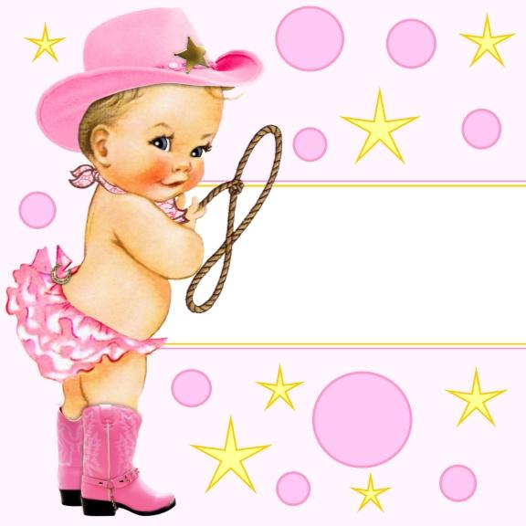 Cowgirl Baby Shower Favor Tags Many Options.