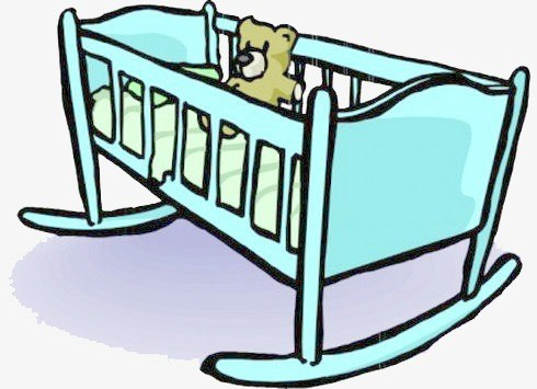 Baby cradle clipart 3 » Clipart Portal.