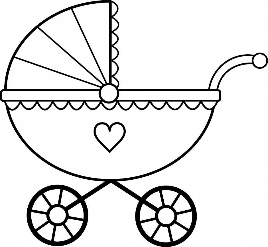Baby Cradle Drawing.