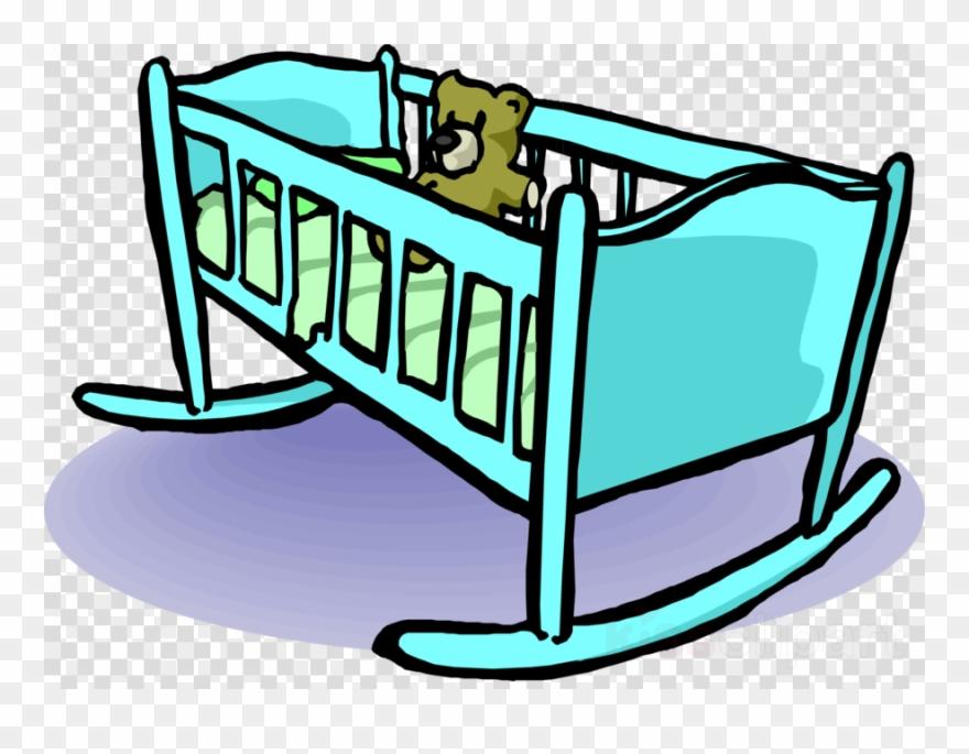 Baby Cradle Clip Art Clipart Baby Bedding Cots Clip.