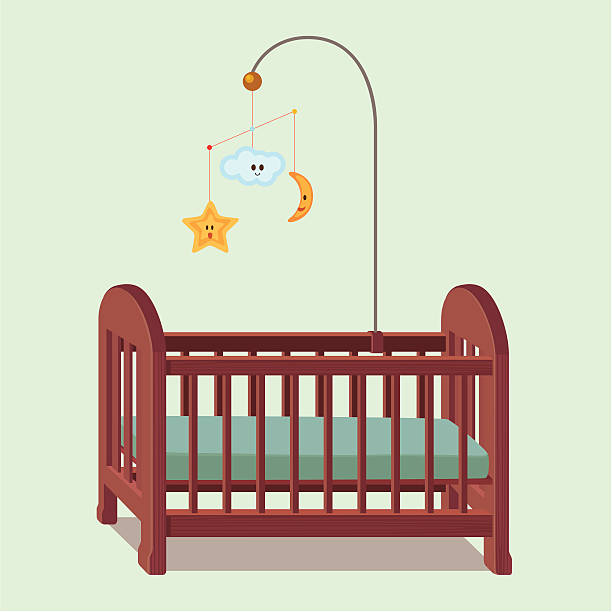 Best Baby Cradle Illustrations, Royalty.
