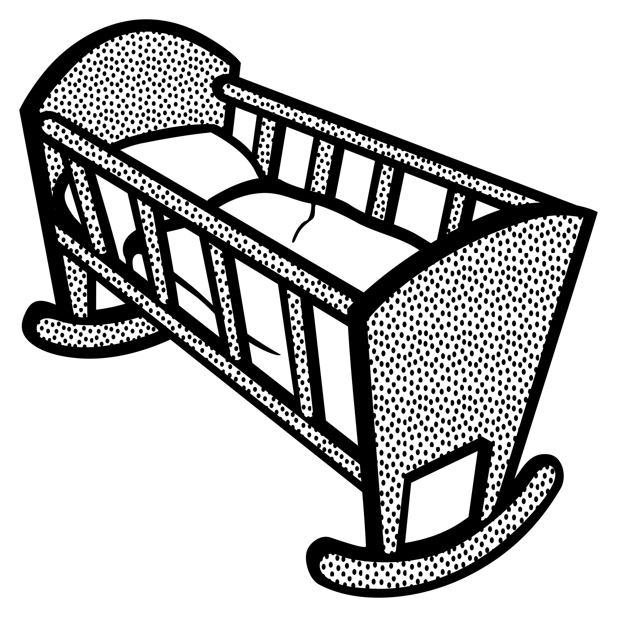Baby Cradle Clipart, Free Baby Cradle Clipart.