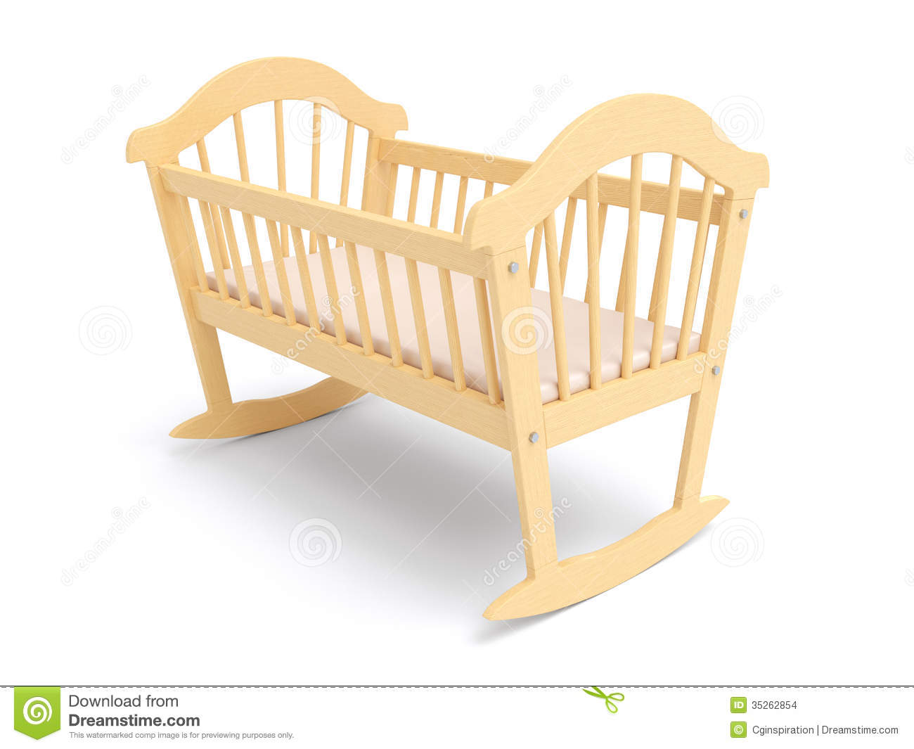 Baby cradle clipart 3 » Clipart Station.