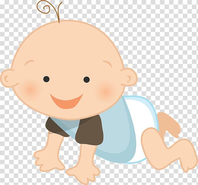 Infant Child Baby shower Crawling, child transparent.