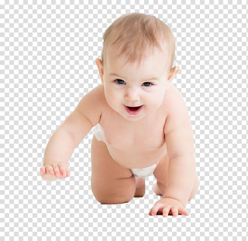 Baby crawling illustration, Diaper Infant Crawling Child.