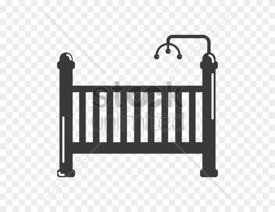 Baby Crib Clipart Cots Infant Clip Art.