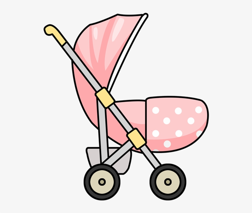 Free To Use Public Domain Stroller Clip Art.