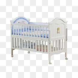 Crib PNG Images.