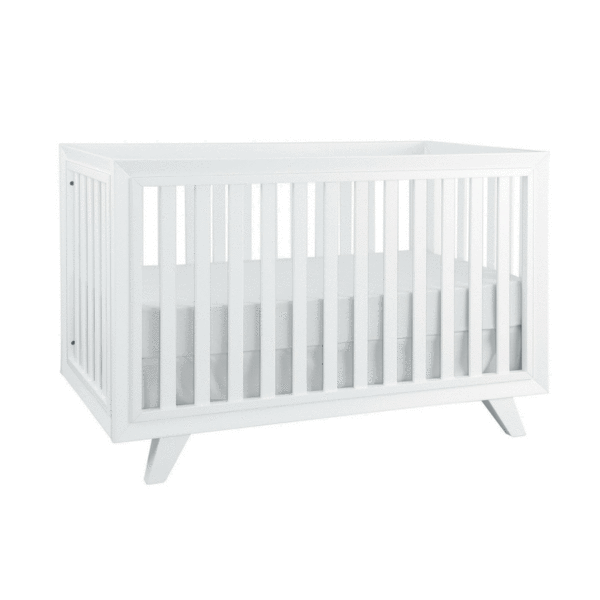 Project Nursery Wooster Crib in Pure White.