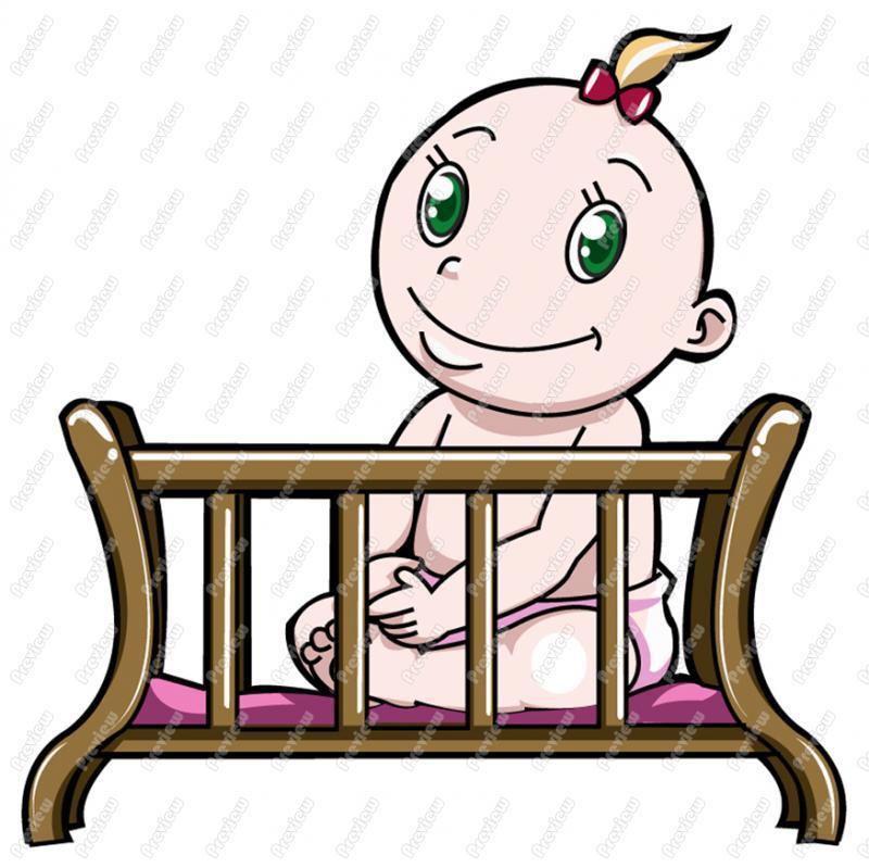 Baby crib clipart 2 » Clipart Portal.