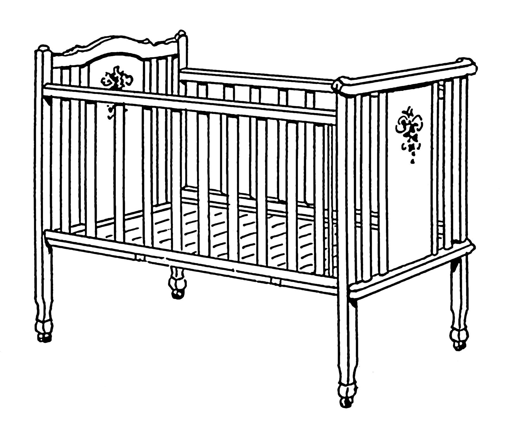Infant bed.