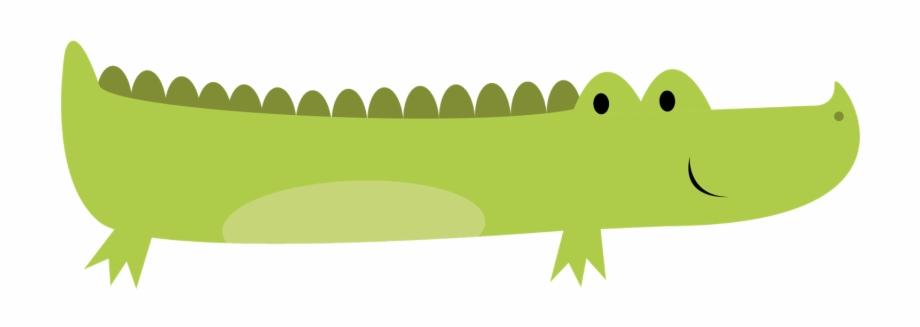 Crocodile Silhouette Clipart Baby Crocodile Clip Art.
