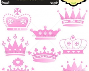 Baby Crown And Tiara Clipart.