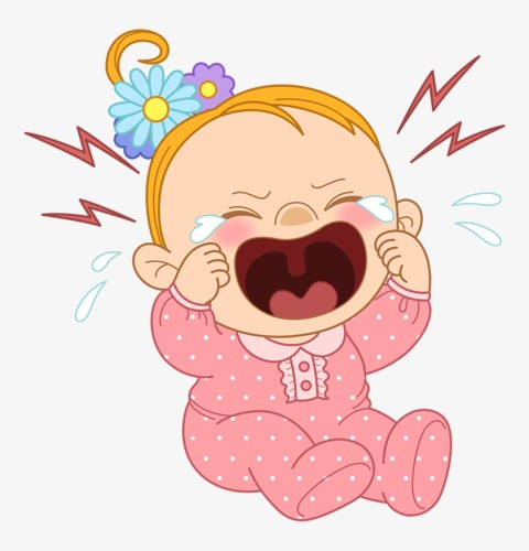 Female Baby Crying Clipart Child PNG Image And Unique Briliant 15.