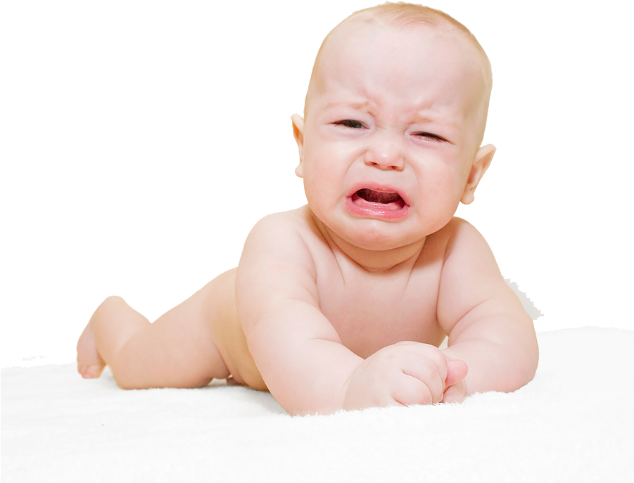 HD Baby Crying Png Transparent Image.