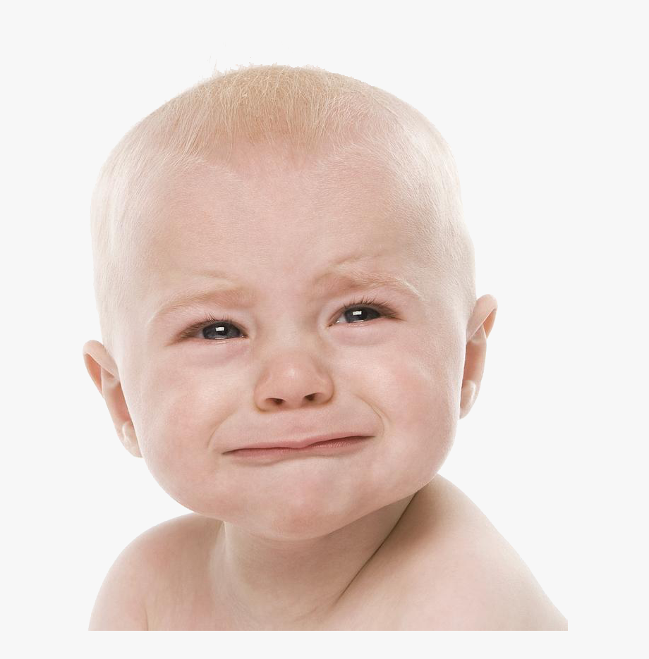 Baby Crying Transparent Images.