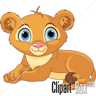 CLIPART BABY LION.