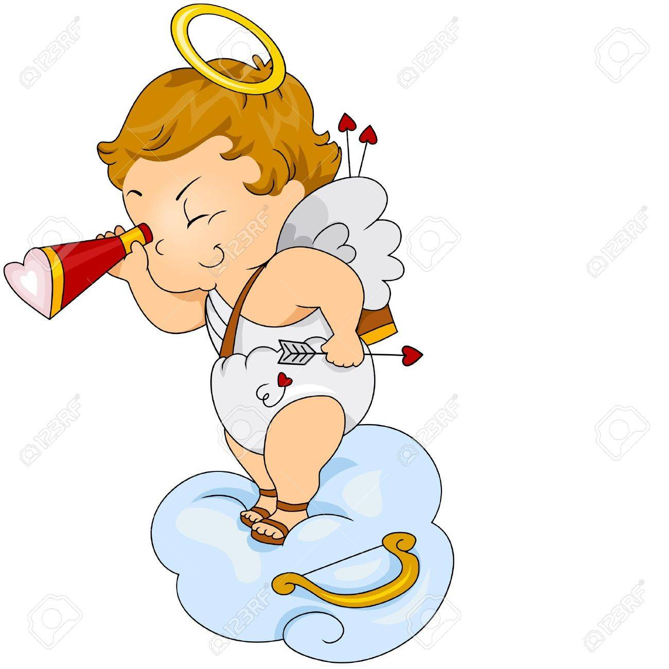 Baby cupid clipart 5 » Clipart Station.