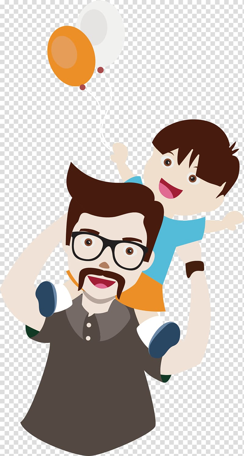 Father and Child graphics, Father Son Cartoon, Milk dad and.