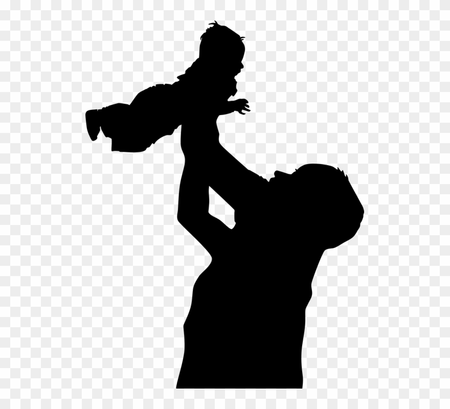 Family Father Son Baby Boy Child Dad Fathers Day Clipart.