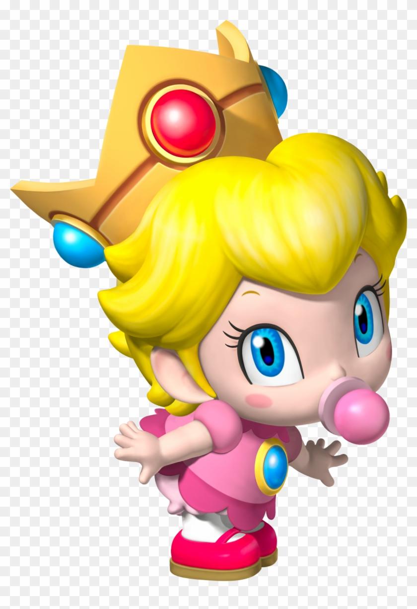 Baby Daisy Peach Y Rosalina, HD Png Download (#549880).